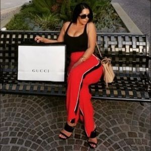 Belle Vere Red Trousers